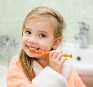 Brushing Teeth - Pediatric Dentist in Council Bluffs, IA